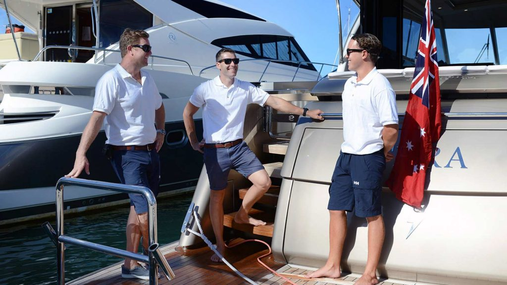 The team at Sydney Vessel Management are always neatly and professionally presented