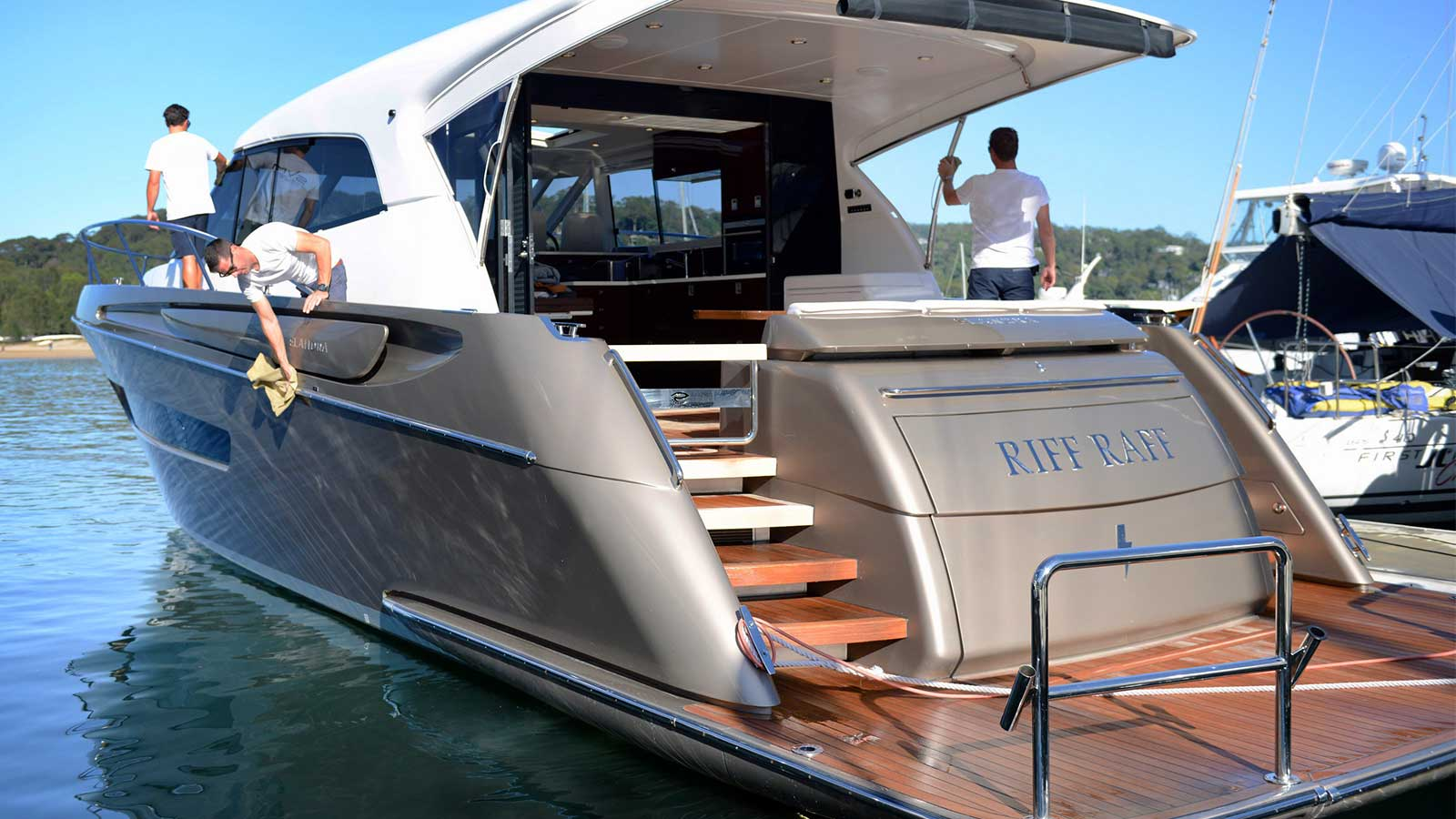 We maintain and detail your luxury yacht to a high standard in Sydney