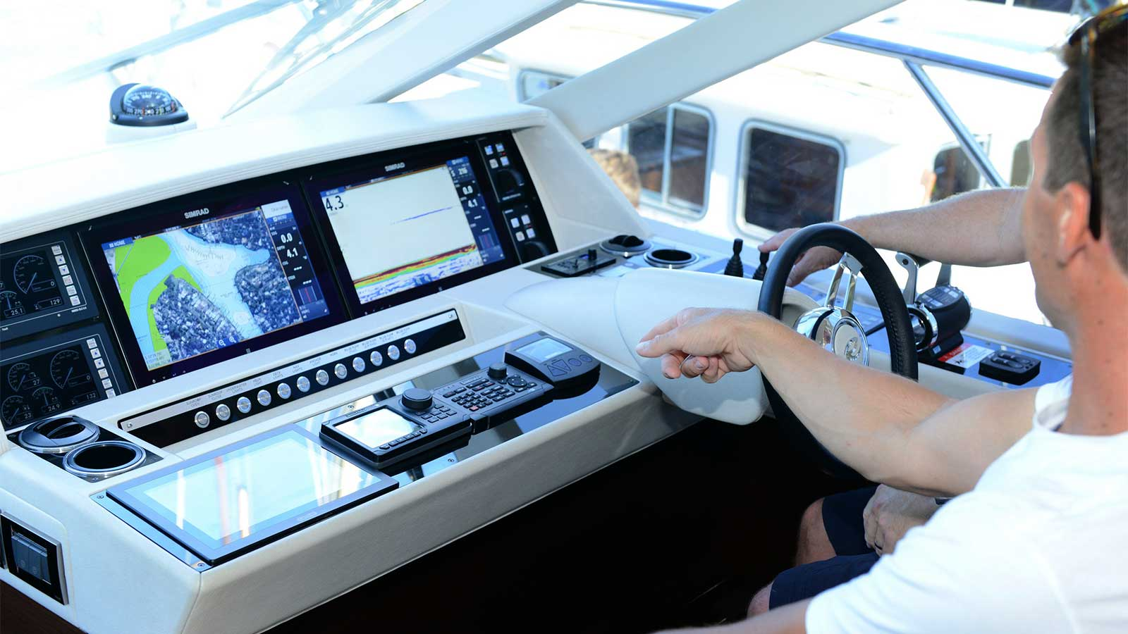 Sydney Vessel Management conducts driver training on their boats and yachts in Sydney, Australia