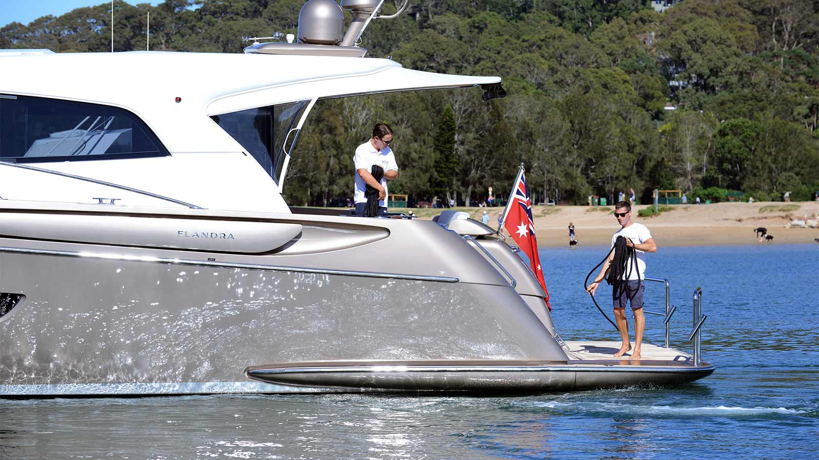 We offer skippering services for your luxury yacht so you can have a relaxing day on the water