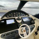 2001 Baia AQVA 54 Cockpit