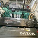 2001 Baia AQVA 54 Engine Room