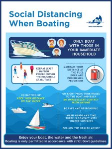 Social Distancing When Boating