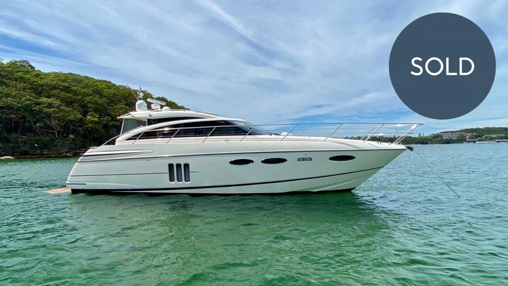 Boat Broker Sydney Vessel Management SOLD 2011 V52 Princess