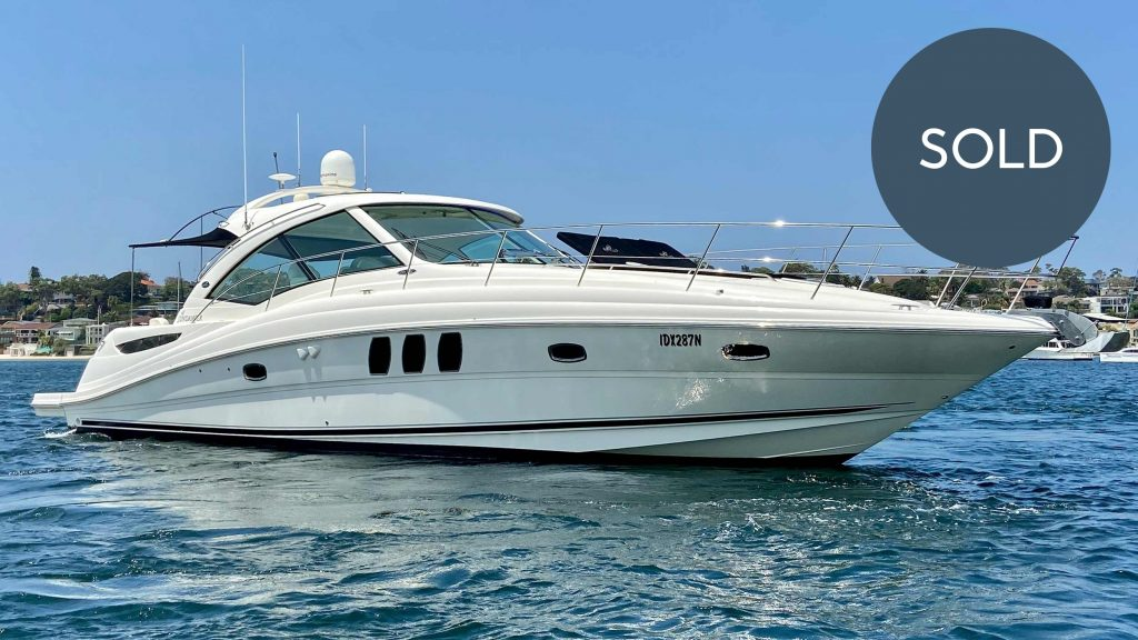 Boat Broker Sydney Vessel Management SOLD 2008 48 Sea Ray Sundancer